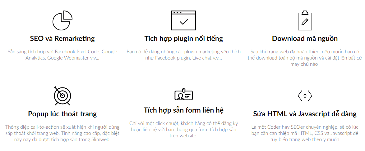 landing page mien phi