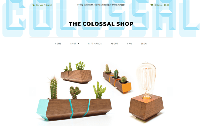 Colossal Shop